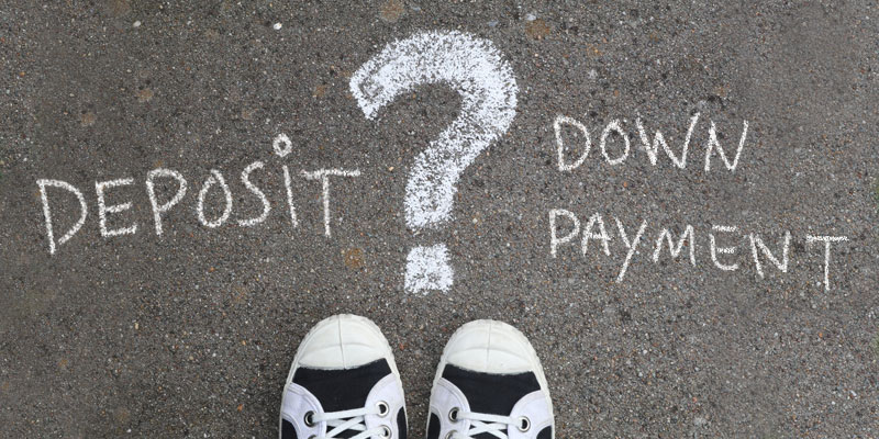 What's the Difference Between Paying a House Deposit & Down Payment?
